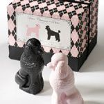 Gianna Rose Atelier Pink & Black Poodle Soap