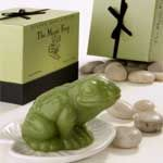 Gianna Rose Atelier Magic Frog Soap On Lily Pad Dish