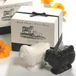 Gianna Rose Atelier Black & White Sheep Soaps