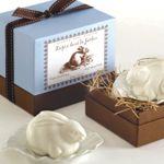 Gianna Rose Atelier Rabbit Soap On Leaf Dish