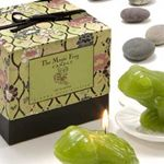 Gianna Rose Atelier Magic Frog Candle on Lily Pad Dish