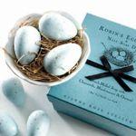 Gianna Rose Atelier Robin's Egg Soaps in Nest Dish