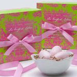 Gianna Rose Atelier Pink Egg Soaps in Nest Dish