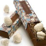 Gianna Rose Atelier Acorn & Pinecone Soaps in Slider Gift Box