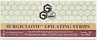 GiGi Surgicloth Epilating  Strips