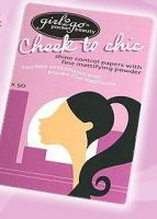 girl2go Cheek to Chic Shine Control Papers with Fine Mattifying Powder