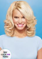 hairdo by Jessica Simpson 17' Wavy Human Hair Extensions