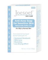 Joesoef Skin Care Anti-Acne Soap with Natural Bio Sulfur 2% for Sensitive Skin