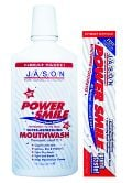 Jason Power Smile Toothpaste Non-Fluoride, Peppermint to the Max Flavor