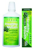 Jason Healthy Mouth Toothpaste Non-Fluoride, Light Clove & Cinnamon Flavor