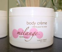 Melange Apothecary Nourishing Body Creme Citrus and Fruit Blends
