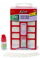 Kiss Natural Square Full Cover Nails