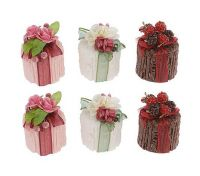 Lori Greiner Complete Set of 6 Decorative Cake Candles