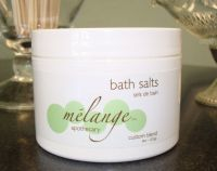 Melange Apothecary Bath Salts Green and Warm Blends