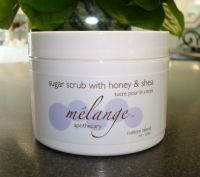 Melange Apothecary Sugar Scrub Floral Blends