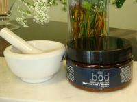 Melange Apothecary Mandarin Lime & Nutmeg Rice Body Scrub
