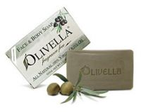 Olivella 100% Virgin Olive Oil Fragrance Free Bar Soap