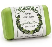 Mistral Cypress Lime Shea Butter French Soap
