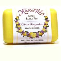 Mistral Lemon Ginger French Shea Butter Soap