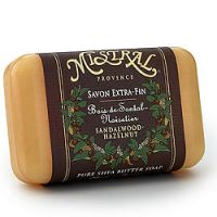 Mistral Sandalwood Hazelnut French Shea Butter Soap