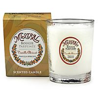 Mistral Vanilla Apricot Faceted Glass Candle