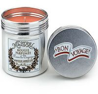Mistral Vanilla Apricot Petite Scented Travel Candle