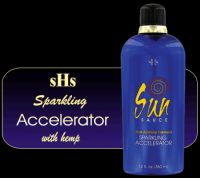 Sun Sauce Sparkling Accelerator Shimmering Tanning Lotion w/Hemp