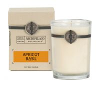 Archipelago Botanicals Apricot Basil Soy Wax Candle