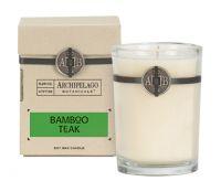 Archipelago Botanicals Bamboo Teak Soy Wax Candle