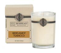 Archipelago Botanicals Bergamot Tobacco Soy Wax Candle