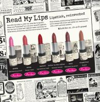the Balm Read My Lips Lipstick