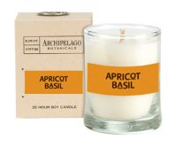 Archipelago Botanicals Apricot Basil Votive Candle