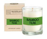 Archipelago Botanicals Bamboo Teak Votive Candle