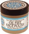 Trillium Organics Oil Free Organic Face Polish with Tea Tree and Witch Hazel