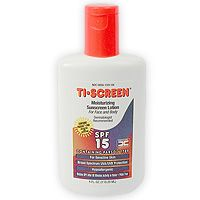Pedinol Ti-Screen Sunscreen SPF 15 w/Parsol