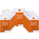 TanTowel Half Body Plus 10 PK, For Medium to Dark Skin Tones