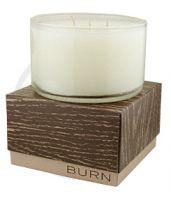 Burn Bittersweet Mandarin Rind Candle