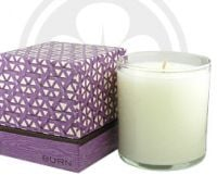 BURN FRESH Fresh Fig Apricot Candle