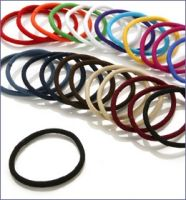 Scunci 24pk 5mm Thick Hair No Damage Elastics