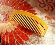 Chidoriya Tsuge Boxwood Comb