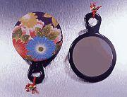 Chidoriya Hand Mirror w/ Kofu Cover