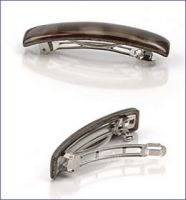 Scunci Pearlized Acrylic Auto-Close Barrette