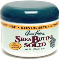 Solid shea butter