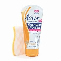 Nair Shower Power Exfoliating  with Skin Renewal Micro-Beads
