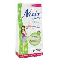 Nair Pretty Glitter Hair Removal Wax Strips