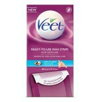 Veet Ready-to-Use Wax Strips Legs and Body