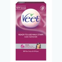 Veet Ready-to-Use Wax Strips Face