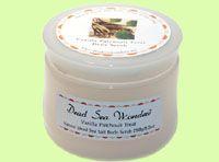 Dead Sea Wonders Vanilla Patchouli Treat Body Scrub