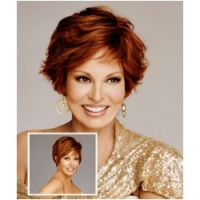 Raquel Welch Wigs Raquel Welch Sheer Lines Human Hair Wigs - Shimmer