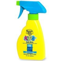 Banana Boat Kids Sunblock Spray Lotion Quik Blok UVA & UVB SPF 35